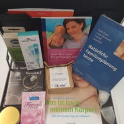 iButton biologischer natürlicher Verhütungs- Kinderwunsch-koffer offen 2